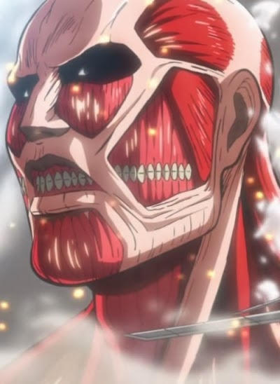 Attack On Titan Halloween Makeup (Colossal Titan) - From ...