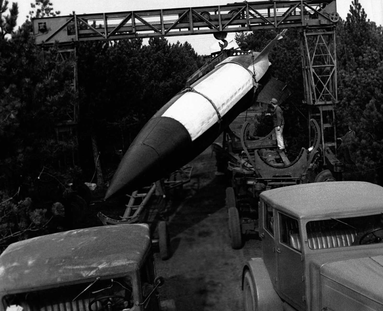 V-2 (German: Vergeltungswaffe 2,