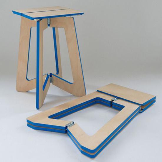 14 model kursi lipat kreatif dari plywood