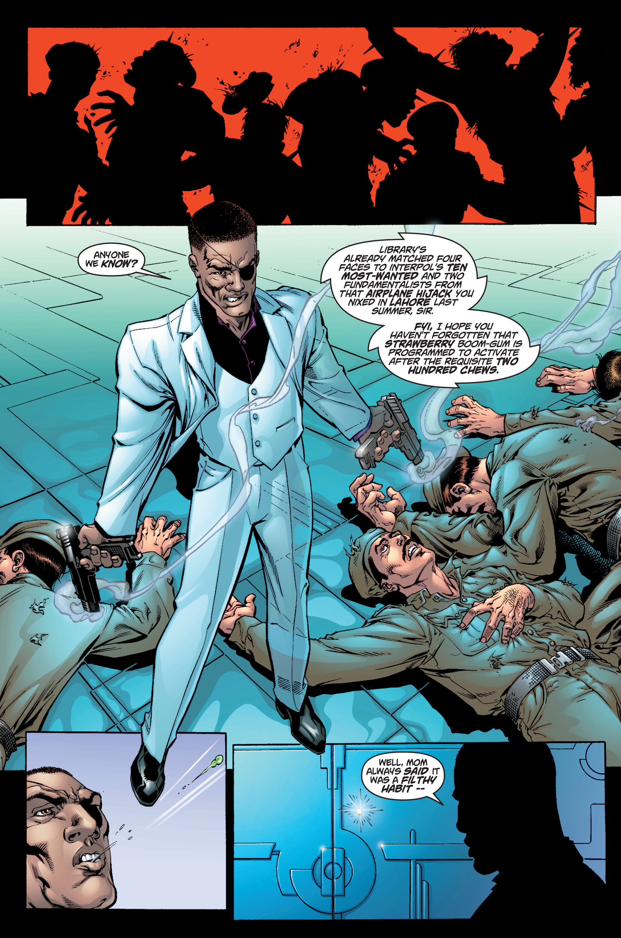Read online Ultimate X-Men comic -  Issue #9 - 10