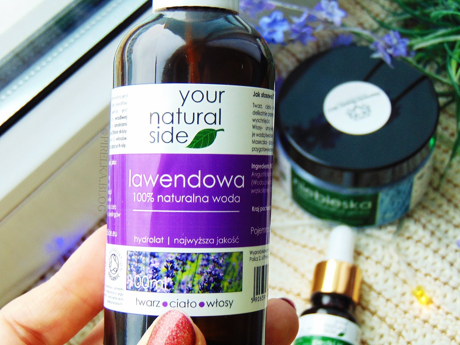 Hydrolat lawendowy - 100% naturalna woda, Your Natural Side