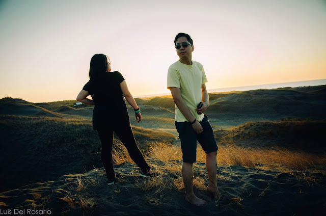 Renz Kristofer Cheng in Ilocos Sand Dunes