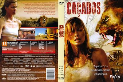 Filme Caçados (Prey) DVD Capa