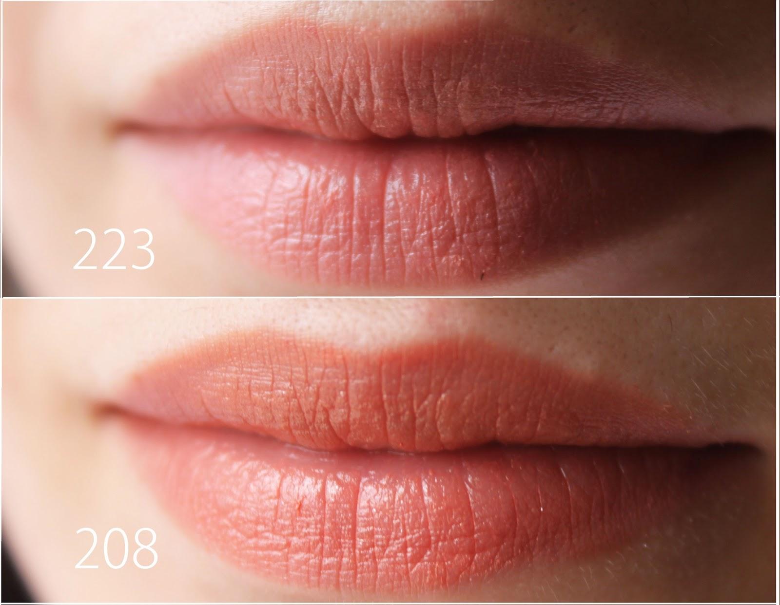 Sherfinka Golden Rose Perfect Shine Lipstick 223 208