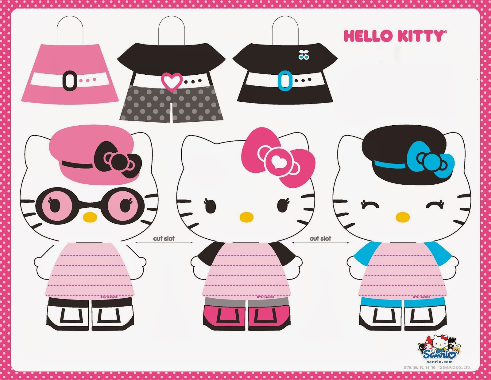 hello kitty recortable