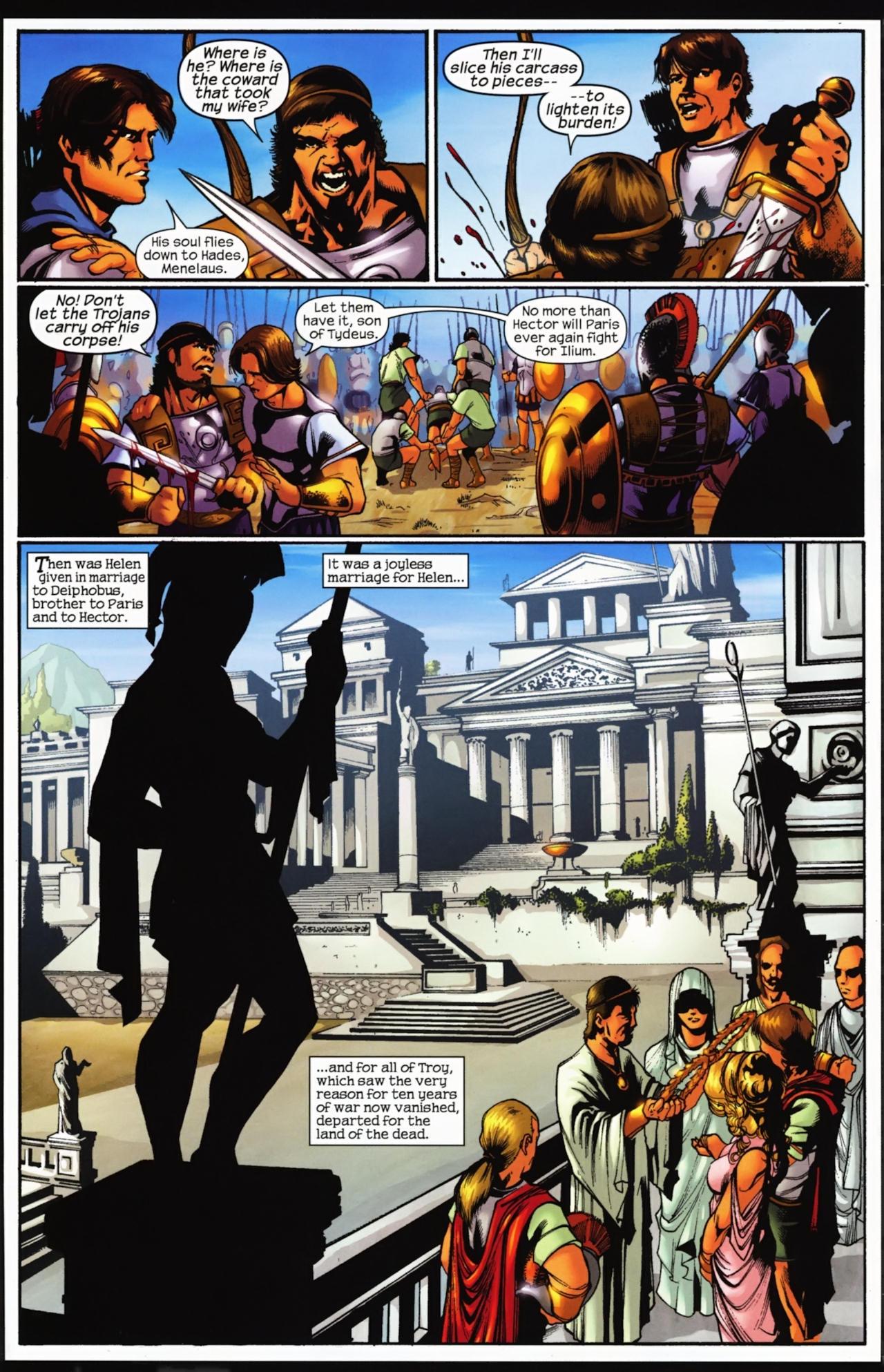 Read online Trojan War comic -  Issue #4 - 17