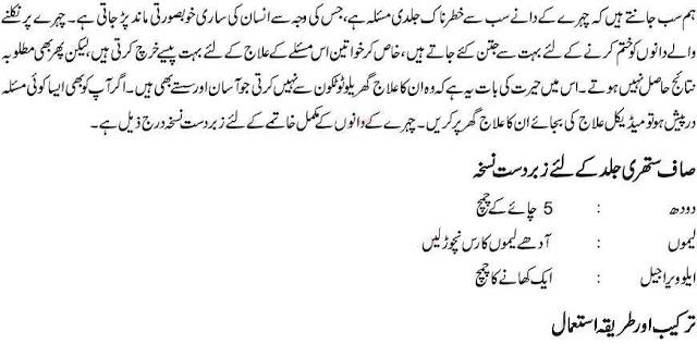 Urdu Best Beauty Tip