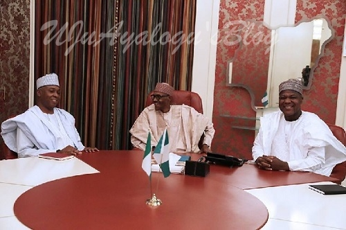 What Saraki, SGF said after meeting with Buhari