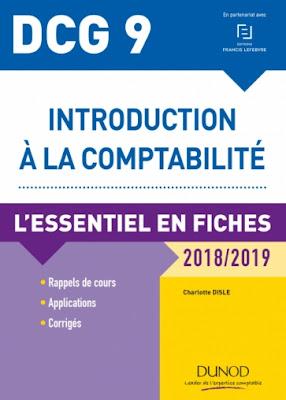 DCG 9 - Introduction à la comptabilité - 2018/2019 - 9e édition PDF gratuit