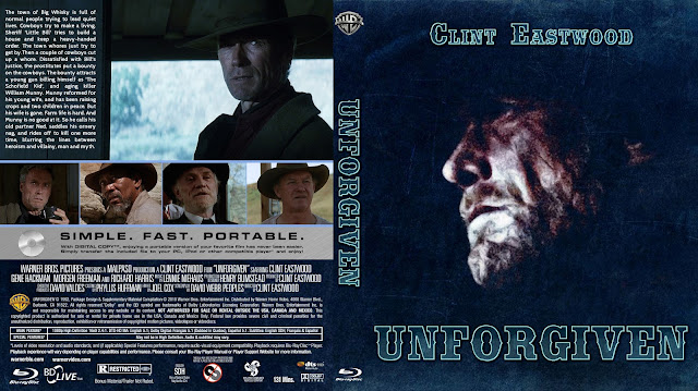 Unforgiven Bluray Cover