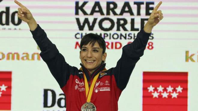 sandra sanchez karate iwga athlete of the year