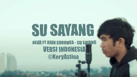 Lirik Lagu Karna Su Sayang versi Indonesia