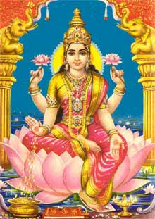 Goddess Lakshmi Friday Wealth