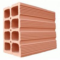 Tijolo 8 furos ( 11,5 x 19 x 19 )