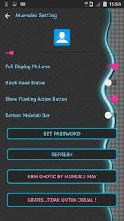 Download BBM MOD Gothic v3.2.0.6 APK Versi Terbaru