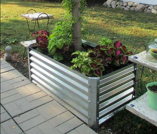 Corrugated Metal Retaining Wall - 1500+ Trend Home Design ...