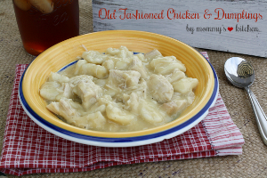 Old Fashioned Chicken & Dumplings