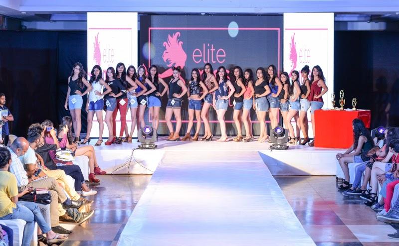 26 Finalists of Elite Miss Rajasthan 2018.