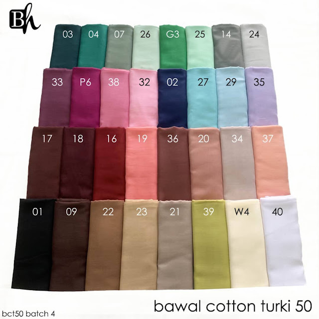 Bawal Cotton Turki 50