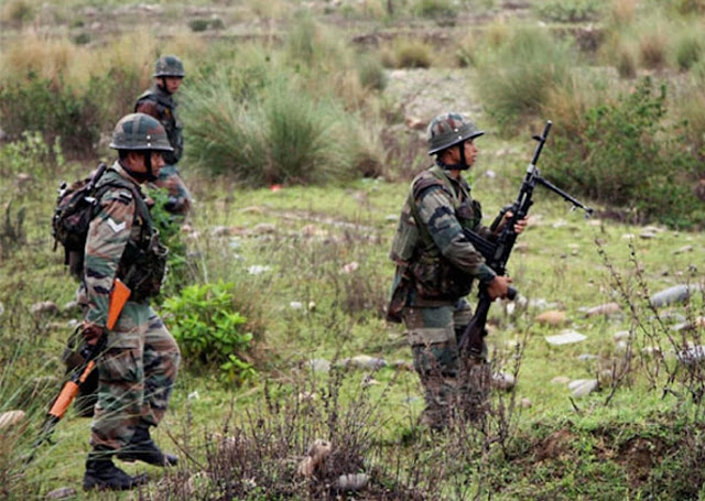 Indian Soldiers killed by pakistans  Soldiers