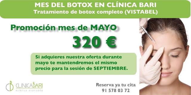 La Toxina Botulina, Vistabel, en la prestigiosa Clinica Bari.