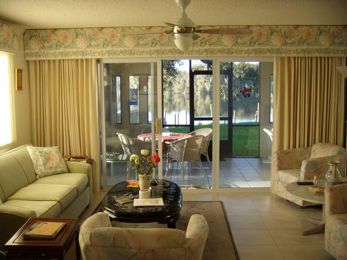 Modern Furniture: luxury living room curtains photo ...