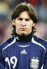 crazeemen Looks of Argentina Soccer player Messi