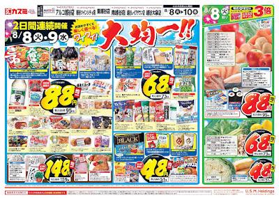 【PR】フードスクエア/越谷ツインシティ店のチラシ8月8日号