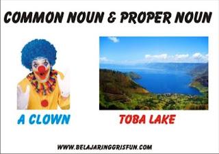 common noun and proper noun