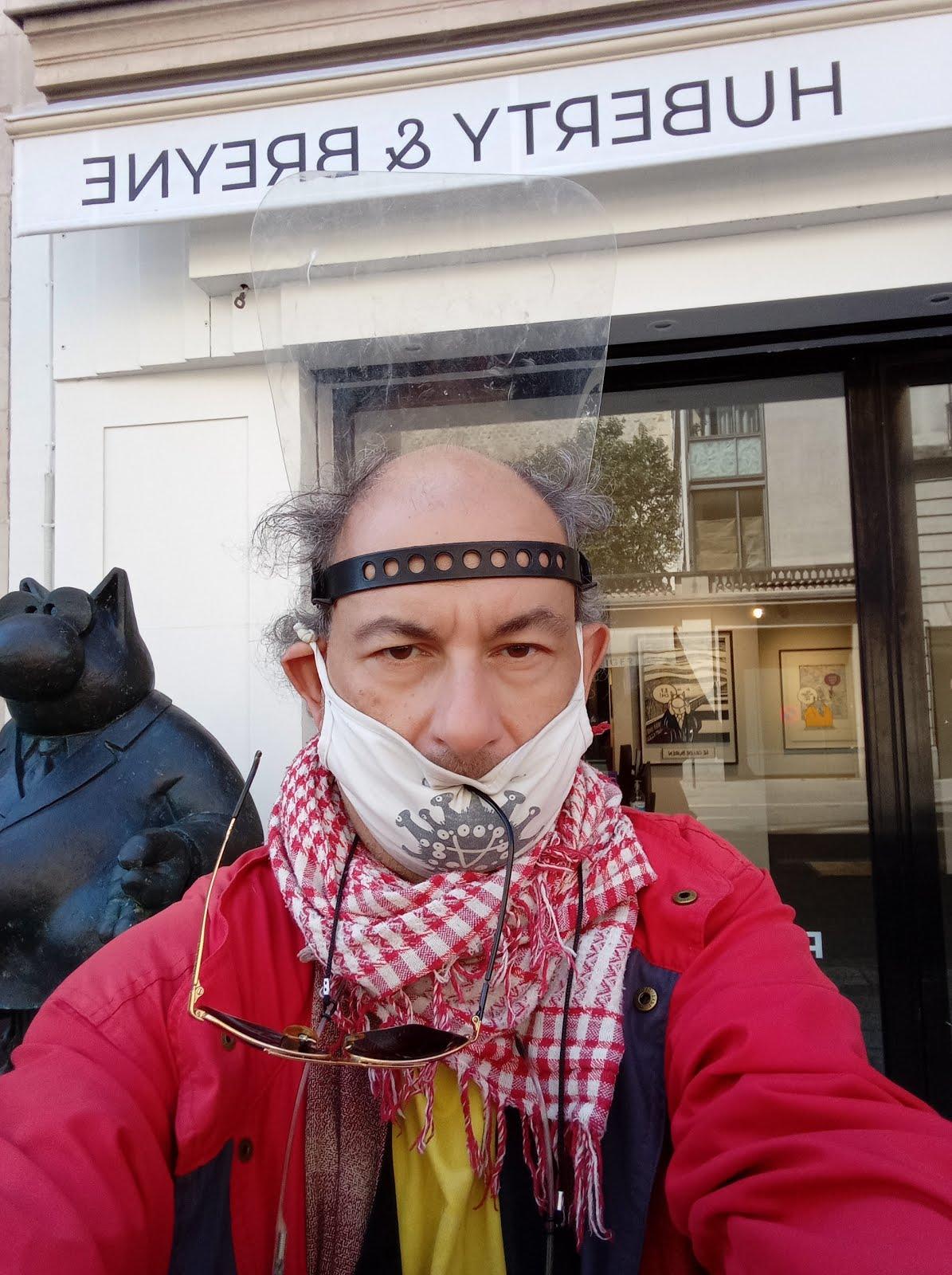 Philippe Geluck  in Paris