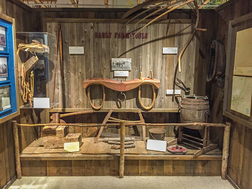 Museum Exhibits at the Southern Kettle Moraine State Forest Headquarters