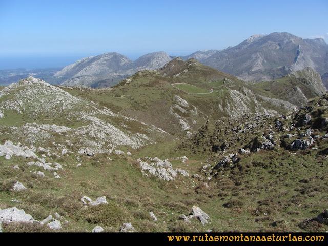 Ruta Ardisana, pico Hibeo: Camino a la Vega del Hibeo