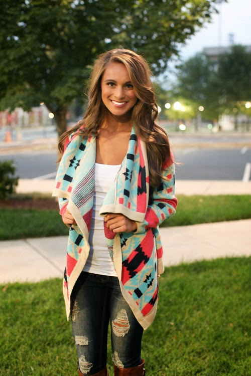 The Bonfire Cardigan