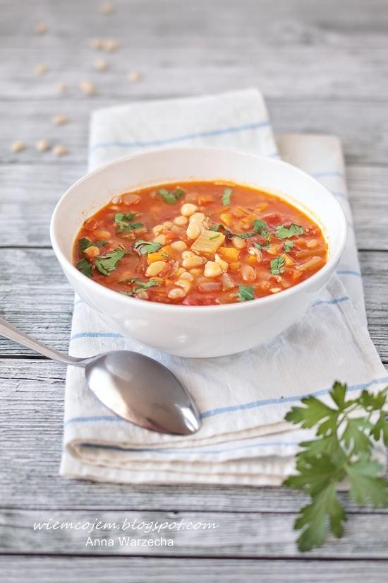 Fasolada - Grecka zupa fasolowa