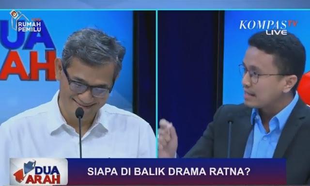 """Tampil di """"Dua Arah"""", Budiman Sudjatmiko """"Dirujak"""" Oleh Politisi PAN dan Gerindra"""