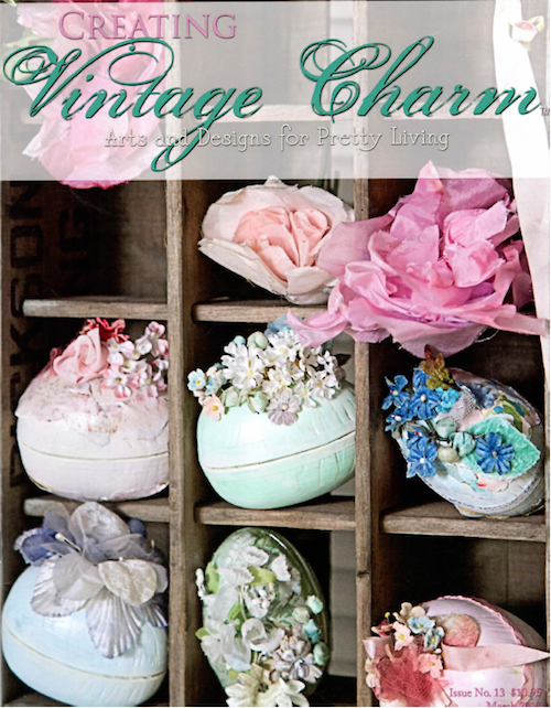 vintage charm easter eggs