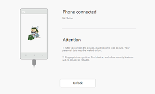 Xiaomi Unlocking Bootloader 8