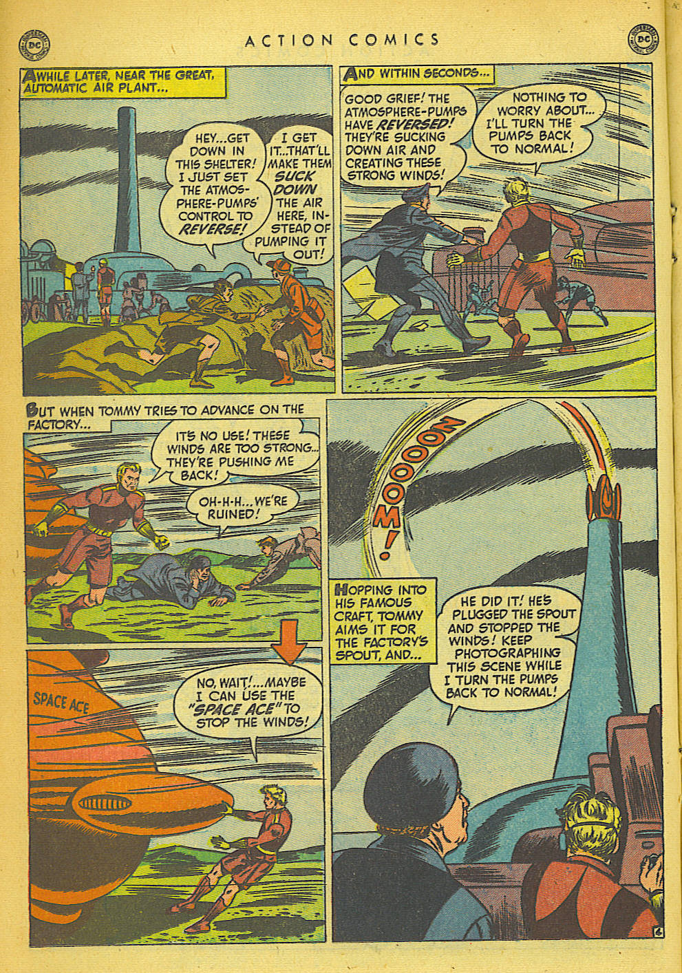 Read online Action Comics (1938) comic -  Issue #149 - 17