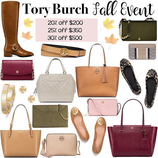 Tory Burch Fall Sale Event Favorites