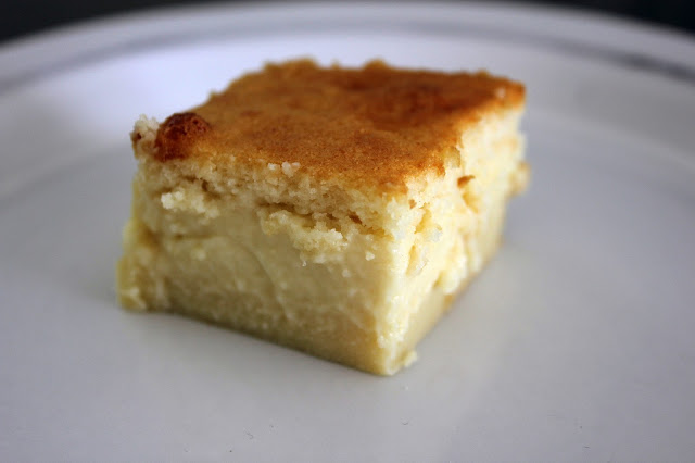 Recipe for Magic Custard Cake by freshfromthe.com.