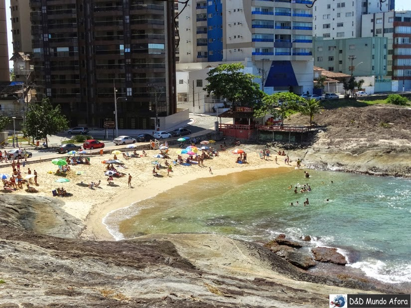 Praia das Virtudes - o que fazer em Guarapari - Espírito Santo