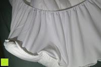 Ende: MESANA Premium Matratzen-Schoner | Größe: 140x200 cm, Höhe: 27cm | weiß aus Soft Touch Microfaser | 100% Polyester | Matratzen-Auflage auch für Ihr Boxspring-Bett und Wasserbett | Unter-Bett