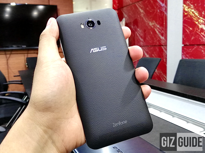 Asus ZenFone Max faux leather back cover