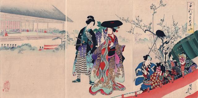 Chikanobu, Sanno Palace 1894