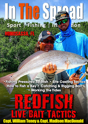 in the spread redfish fishing live bait william toney