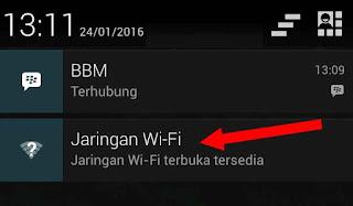 notifikasi jaringan wifi