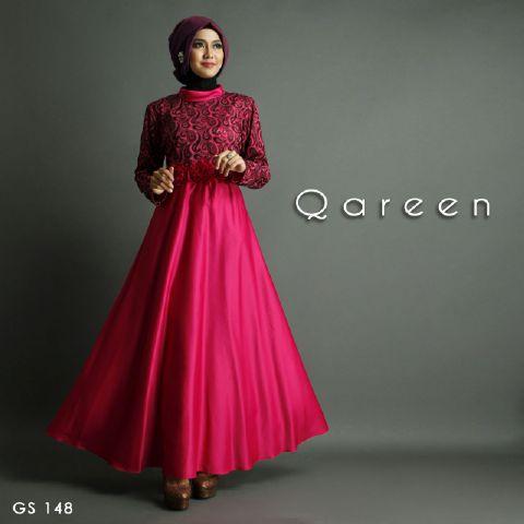 model baju muslim bahan satin terbaru 2016 & 2017
