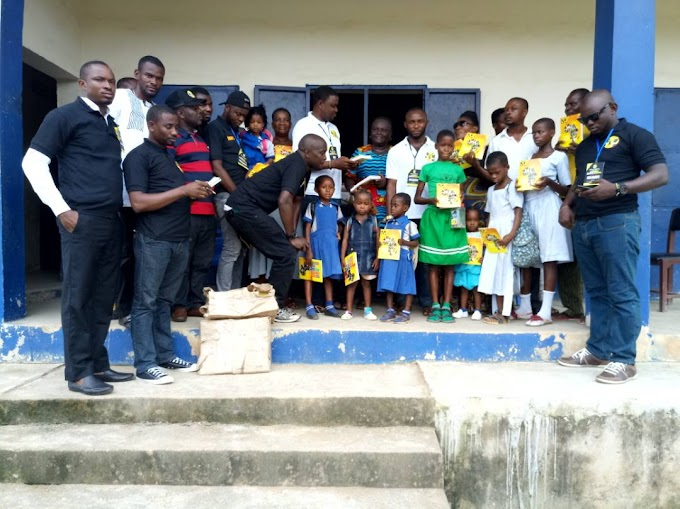 NBM donates books to schools in Cross River State