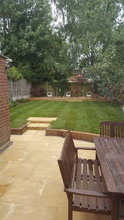 A transformed garden space perfect for family life