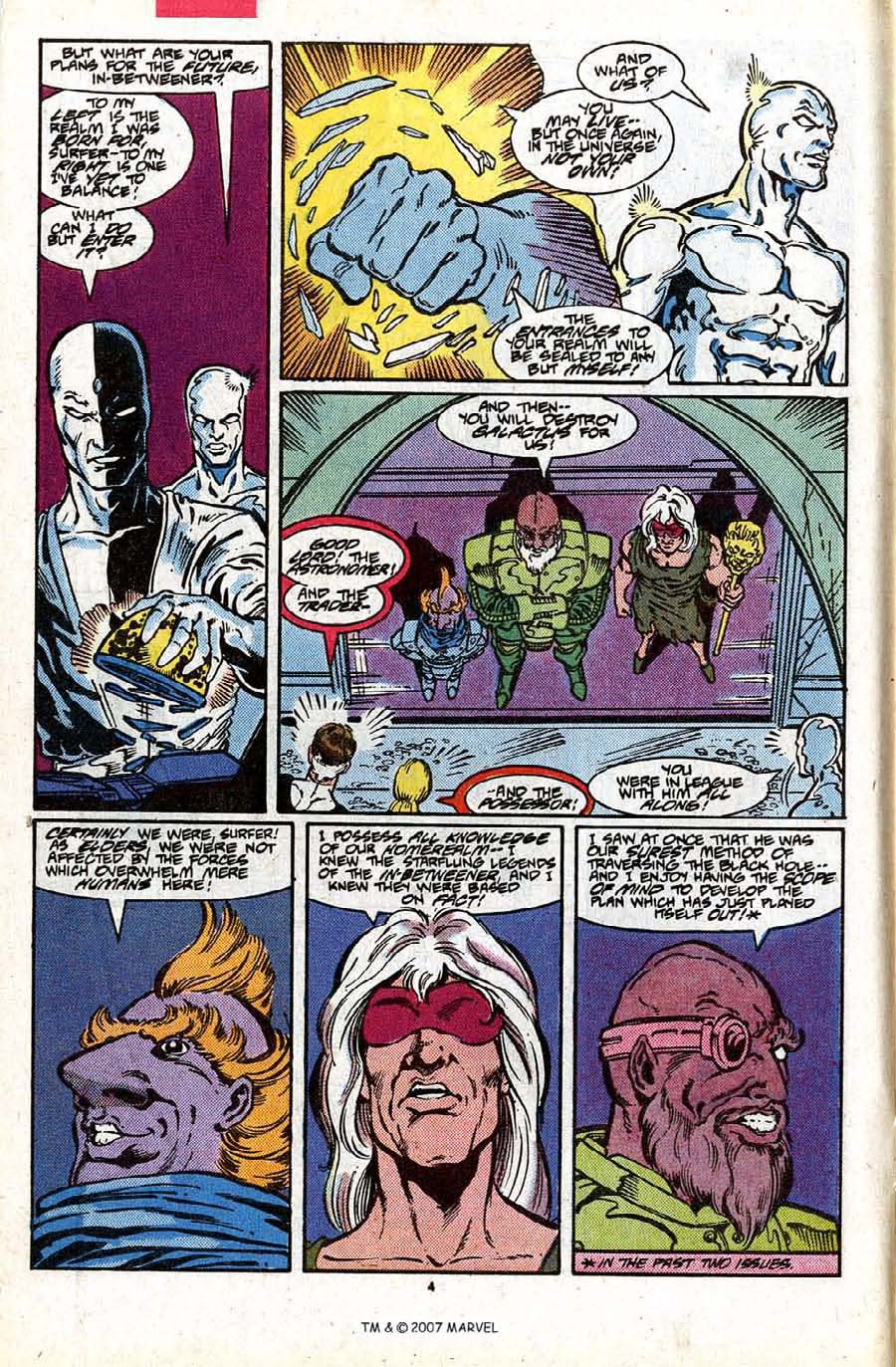 Read online Silver Surfer (1987) comic -  Issue #17 - 6